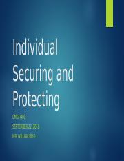 E-Harlow_Individual Securing and Protecting Information.pptx