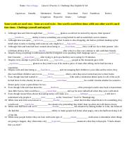 Vocabulary Lesson 2 Practice 3 Challenge Day.docx