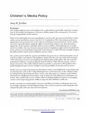 16. Jordan (2008) - Childrens Media Policy.pdf