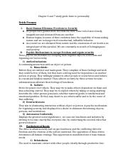 Chapter 6 and 7 study guide Intro to personality.docx