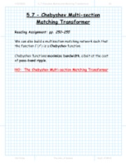 section_5_7_Chebyshev_Multisection_Matching_Transformer_package