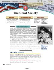 Ch 28_3 The Great Society