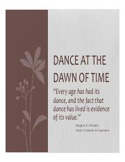 Dance at the Dawn of Time.pdf
