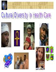 38296405-Cultural-Diversity-in-Healthcare.ppt