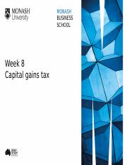 Week 8 Slides Capital Gains Tax part 1 (3)