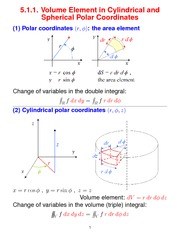 Cylindrical and Spherical Polar Coordinates