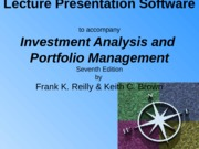 Ch01 The Investment Setting