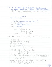 MATH 133 Composition of Functions Notes