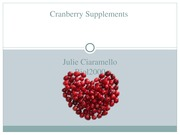 cranberry powerpoint