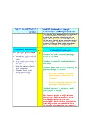 Week 3 Assignment Grading Rubric (GBV).doc