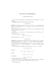 MATH 315 Winter 2015 Homework 6 Solutions