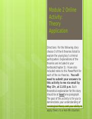 Module 2 Online Activity-Theory(1)