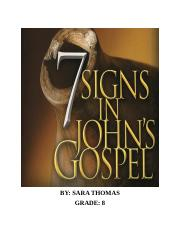 7 Signs in St. Johns Gospel.docx