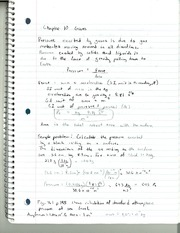 CHM 142 Gases Notes