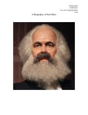 A Biography of Karl Marx.docx