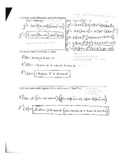 Calculus Practice Exam #1 page 4