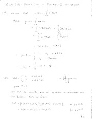 ECE 216 Winter 2011 Tutorial 2 Solutions