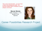 Career+Possibilities+Research+Project+SAMPLE