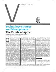Apple-Technology Strategy & Management.pdf