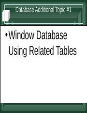 Database Additional Topic 1 Feb 22.ppt