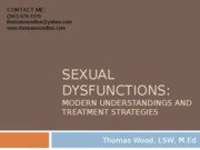 Ambler Sexual Dysfunction T. Wood
