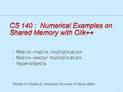 cs140-multicorematrix