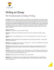 Writing an Essay - Complete Script.pdf
