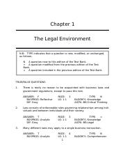 Miller--Business Law Today Standard 10e