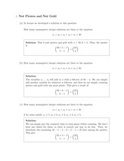 Recitation 3 Solutions
