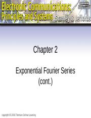 L02-3-Chapter 02 - Exponential Fourier Series