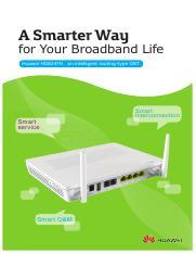 123Slide Org-HG8145V Datasheet pdf - A Smarter Way for Your