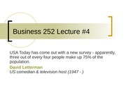 Business 252 4