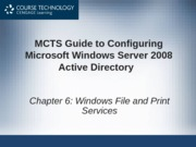 Files NTFS-MCTS Chapter 6