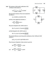 13_Chapter 18 HomeworkCH18 Direct-Current Circuits