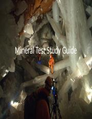 Mineral Study Guide Test 1 Answers.pptx