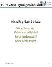 Cs3219 L06 Application Control Design Patterns Pdf Cs3219 Application Control Design Patterns Bwadhwa Cs3219sem2ay2016 17 1 Application Control Course Hero