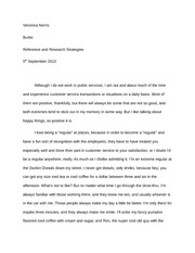 Reference and Research Strategies Essay