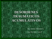 desordenes traumaticos