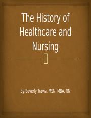 The_History_of_Healthcare_and_Nursing