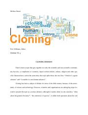 CLONING ESSAY 1, ENG 210.  DONE.docx