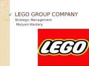 LEGO GROUP COMPANY
