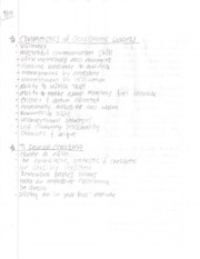 COMM 3135 - Charismatic Leaders Notes