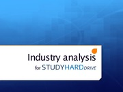 Industry Analysis Presentation 3