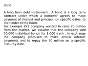 1. Capital Market Instruments
