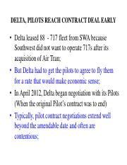 Topic 12B -  Delta and AA Pilot negotiation examples - 12march2015