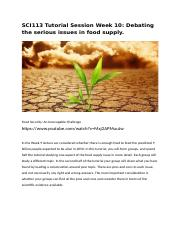 Week 10 - Food supply issues 1.0.docx