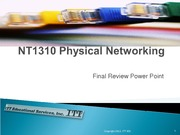 IT 1310 Final Review Power Point