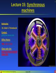 Lecture 15 - Synchronous machines.ppt