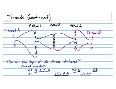 Lecture Notes CSE132 2008-02-19 Threads (continued)