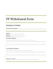 PF Form 19  10C_GENPACT Employee Deatils - Copy